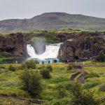 Hjalparfoss in South Iceland