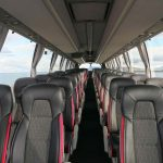 Airport coach in Iceland