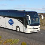Airport express bus in Iceland