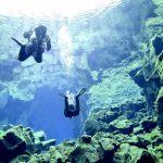 Diving in South Iceland