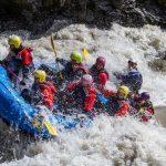 Glacier river rafting in Iceland