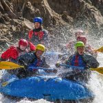 Iceland rafting in glacier river