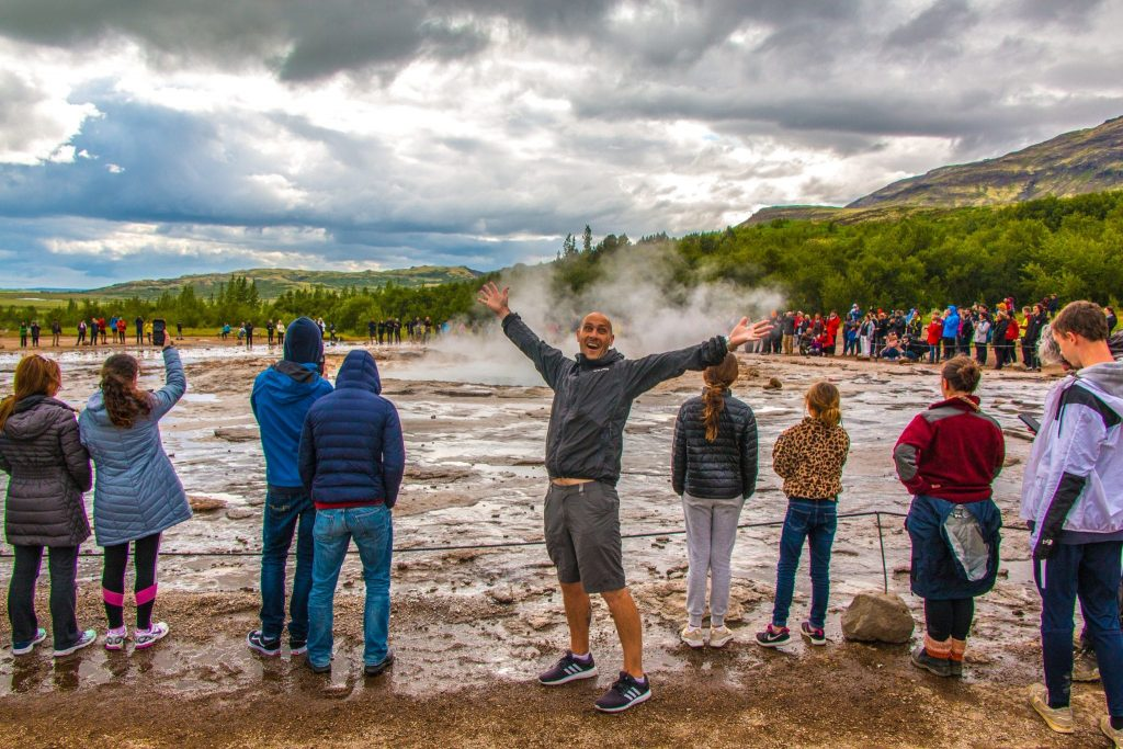 Geysir in South Iceland
