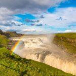waterfall Gullfoss Iceland