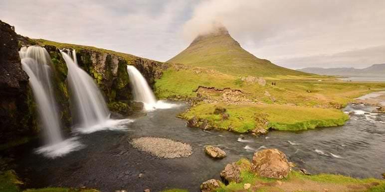 Kirkjufell Mountain in Snaefellsnes