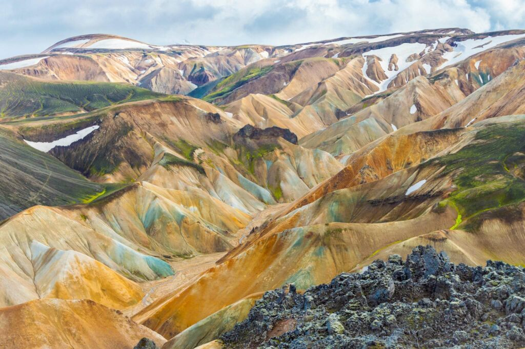 Landmannalaugar Mountains Iceland