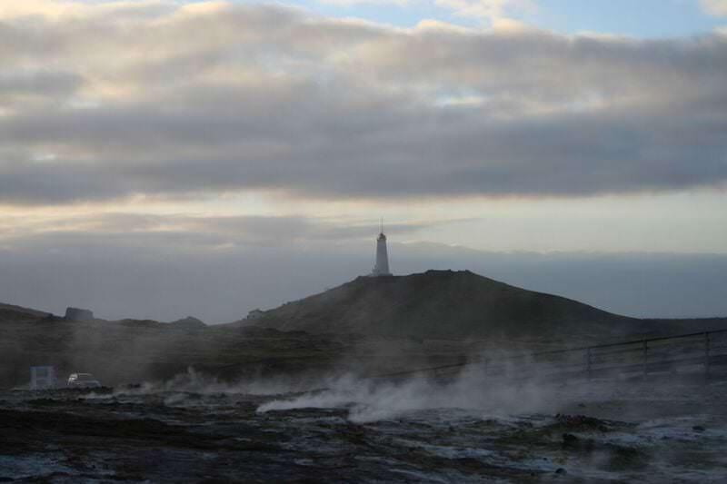 Lighthouse in Reykjanes