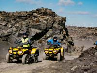 ATV tour in Reykjanes Peninsula in Iceland