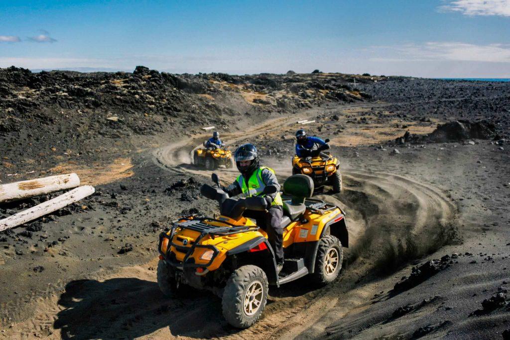 Quad biking tour in Iceland