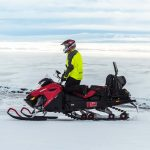 glacier snowmobile tours in Iceland