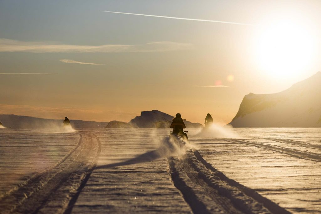 Snowmobiling 2016 in Iceland