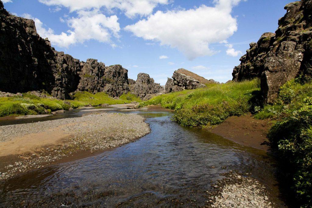 National park thingvellir in Iceland