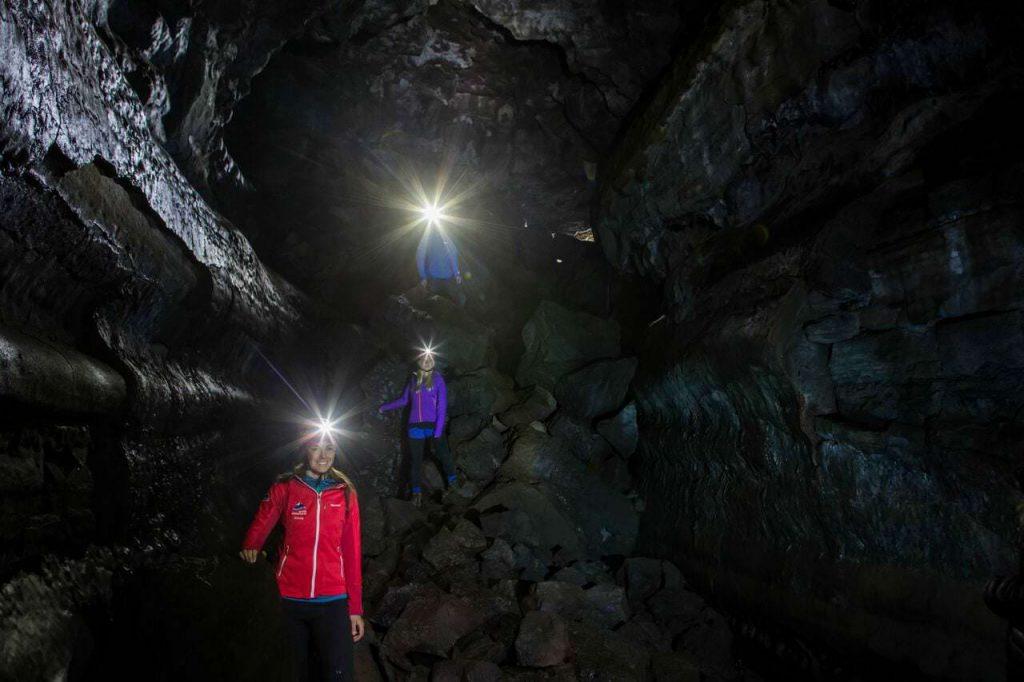 reykjavik caving tour Iceland