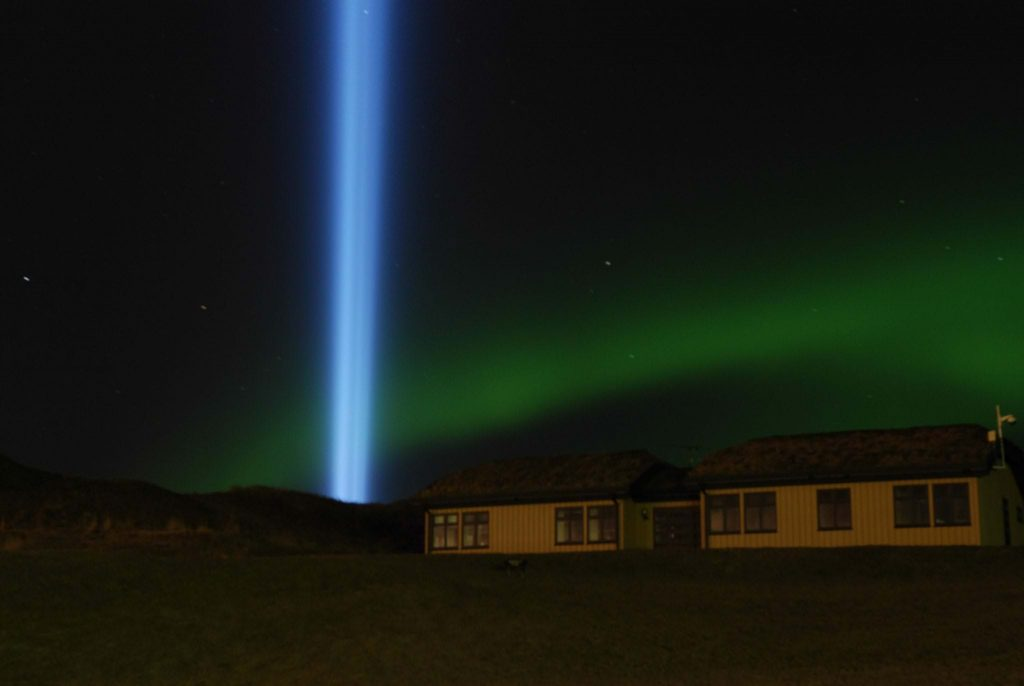 Imagine Peace Tour in Iceland