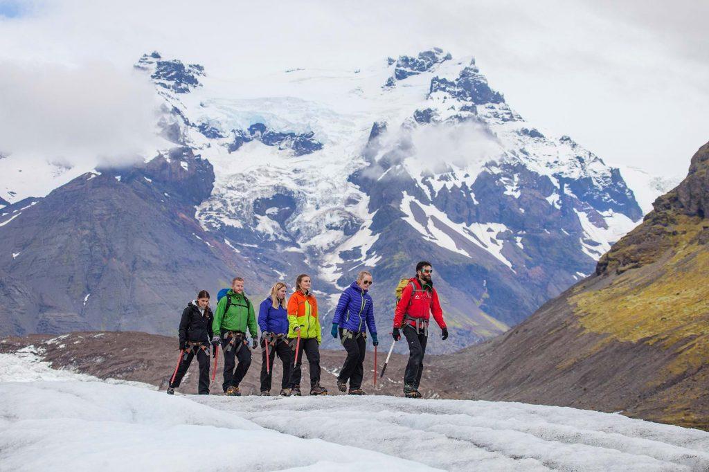 Svinafellsjokull Glacier walk Iceland