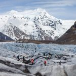 Glacier walk adventure in Iceland
