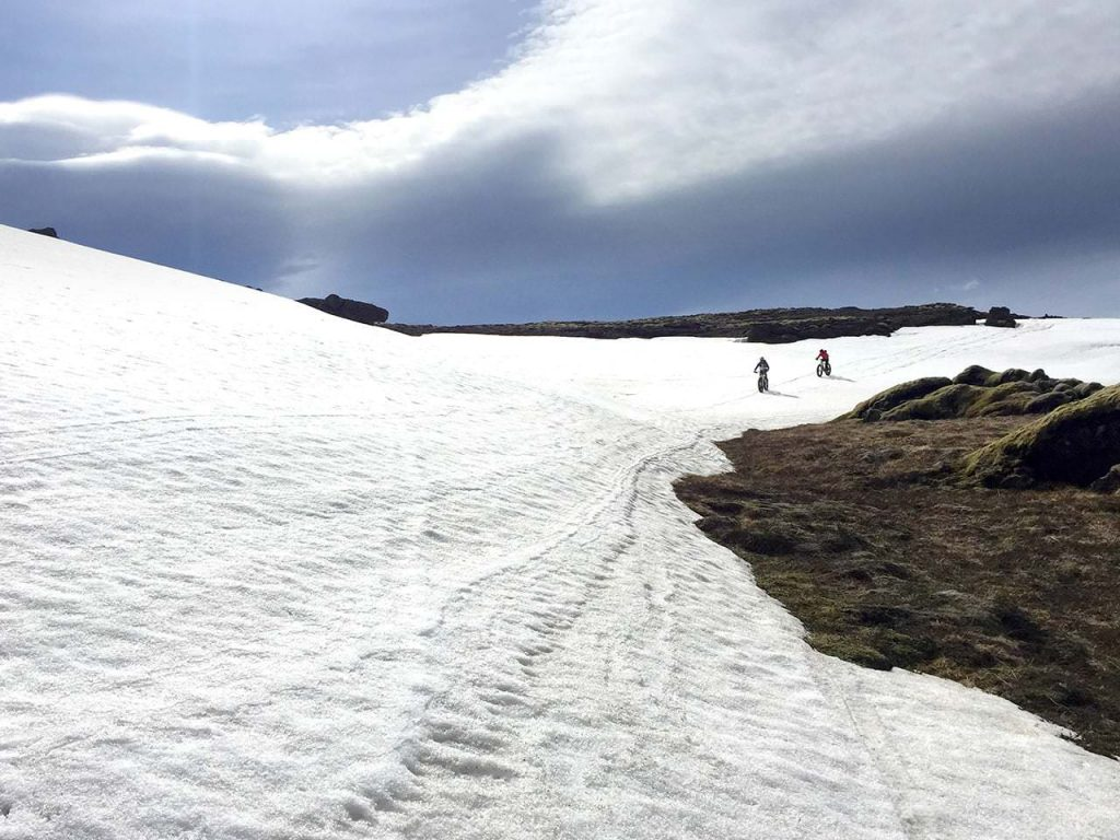 Fatbike in Iceland