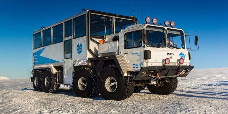 Glacier Monster Truck
