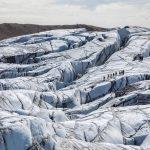 Glacier walk in South East Iceland