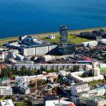 Reykjavik from air