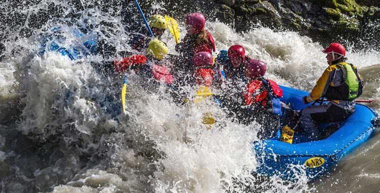 Glacier Action Rafting