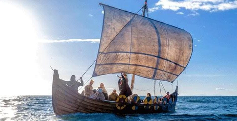 Authentic Viking Ship