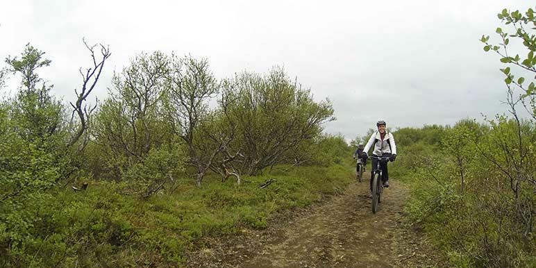 Biking At Thingvellir National Park