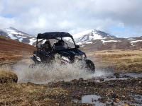 Buggy cars in Landmannalaugar
