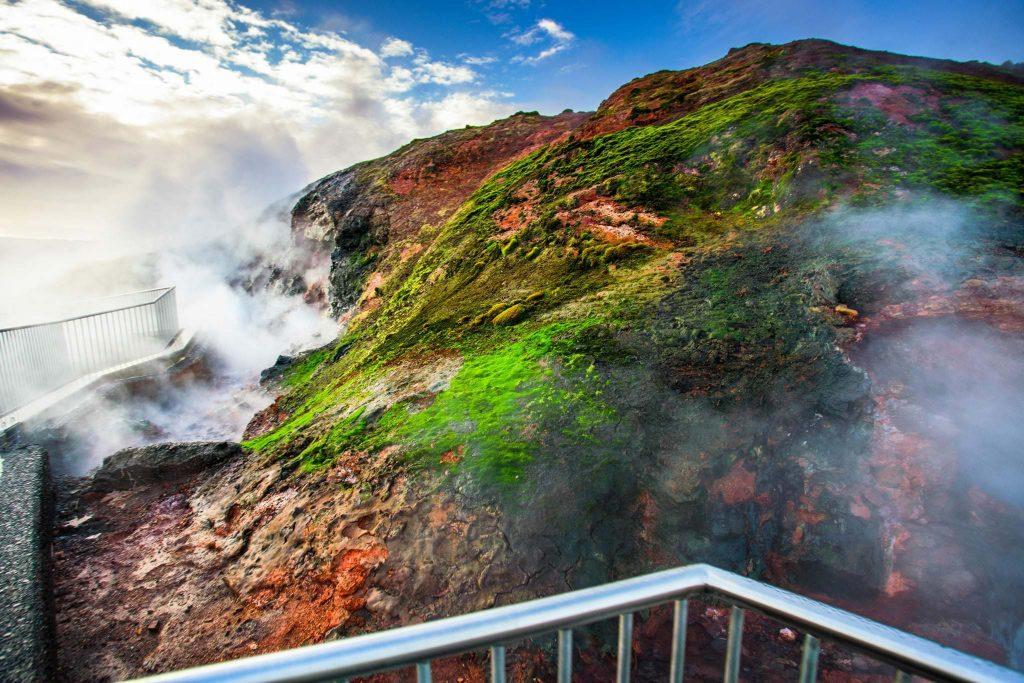 Deildartunghver hot spring, West Iceland