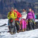 Eyjafjallajokull Hiking At Svinafellsjokull