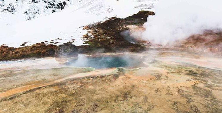 geothermal hot spring