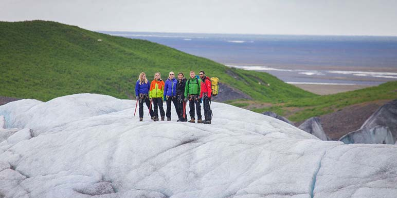 Glacier Hike At Svinafellsjokull