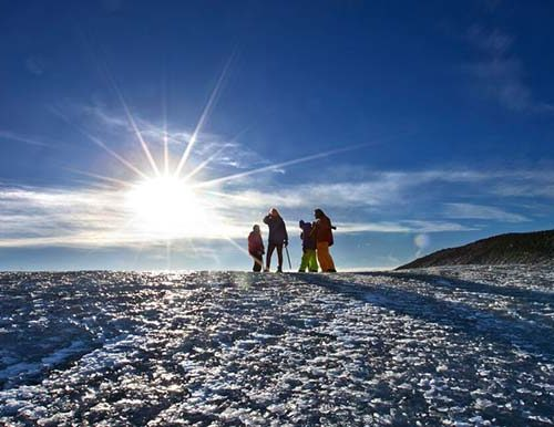 Eyjafjallajokull Glacier Hiking