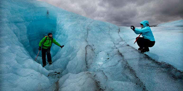 Glacier Walk at Svinafellsjokull
