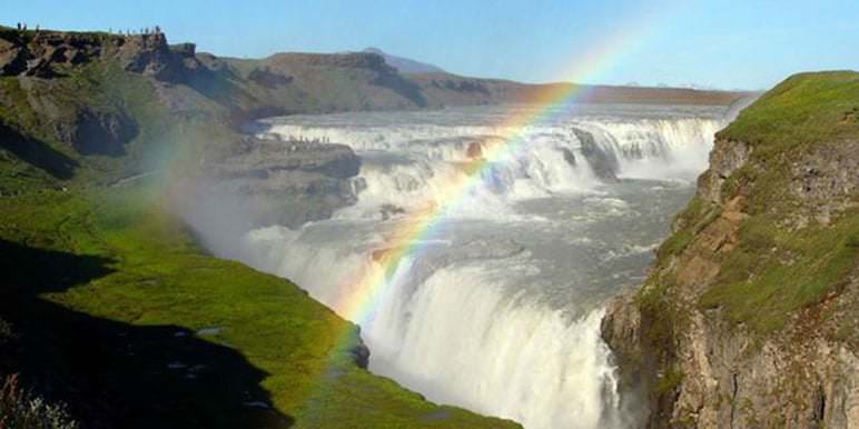 Golden Circle Gullfoss Waterfall