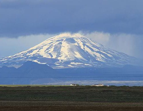 Hekla Volcano By Super Jeep