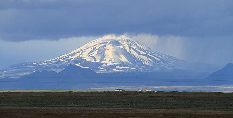 Hekla Volcano By Super Jeep