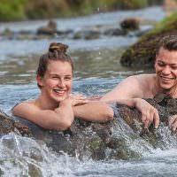 Hot Spring Bathing