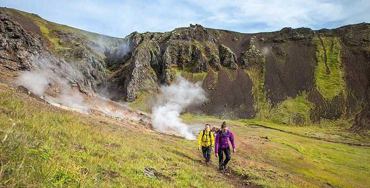 Landmannalaugar In Iceland