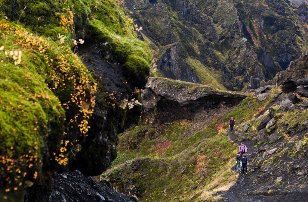 Laugarvegur Trek in South Iceland