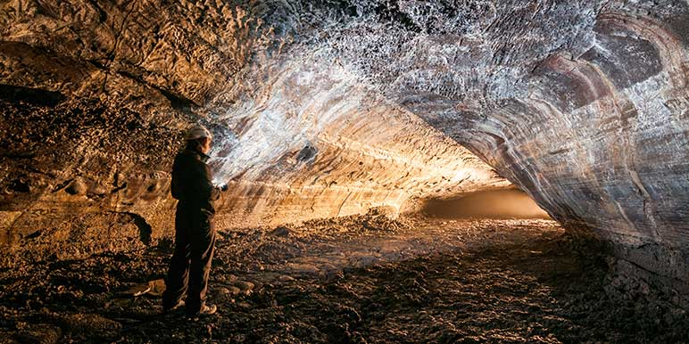 Lava Cave Exploring