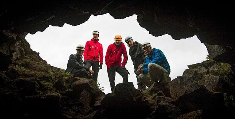 Lava Caving In Iceland