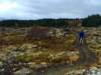 Mountain biking in Heiðmörk