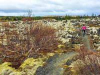 Mountain biking around Reykjavik
