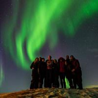 Golden Circle Map And Northern Lights