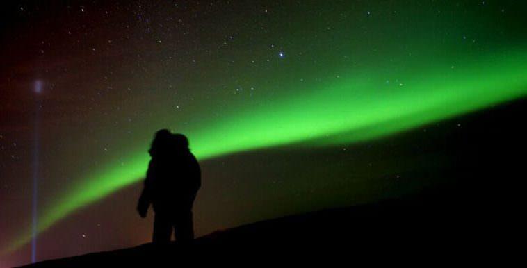 Northern Lights In Videy