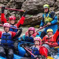 West Glacier River Rafting Action