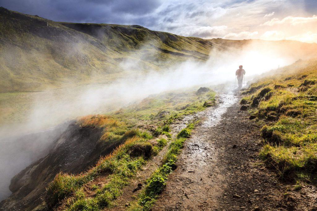Reykjadalur geothermal area