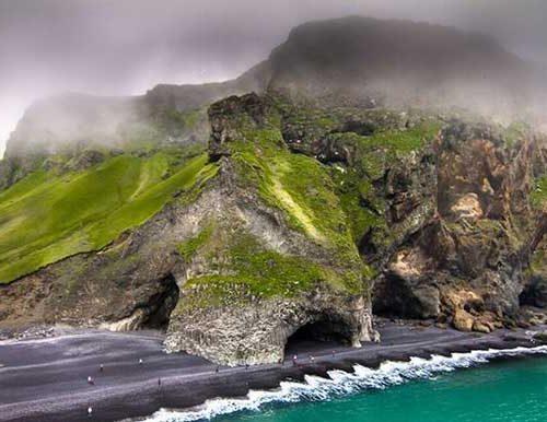Reymisfjara In Iceland