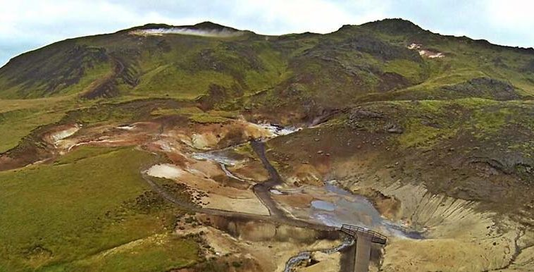 seltun geothermal area